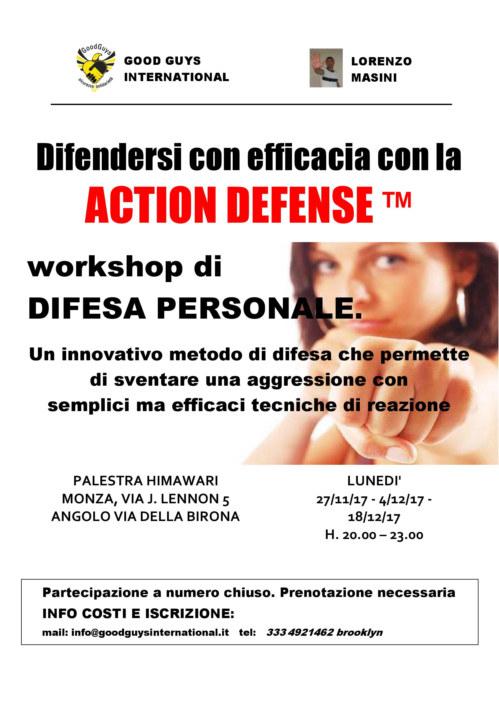 Workshop ACTION DEFENCE